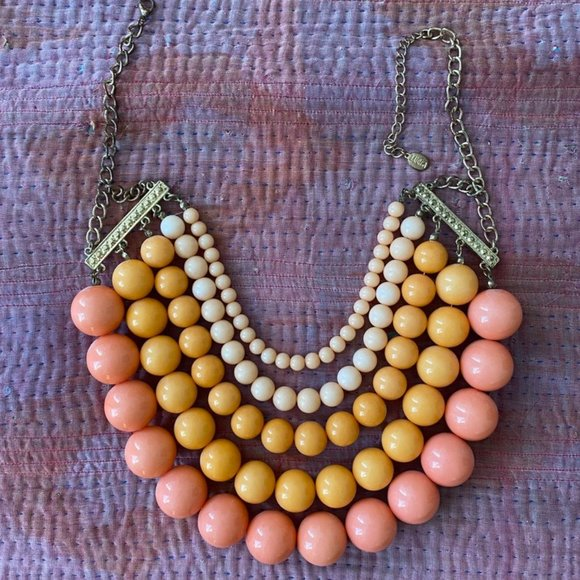 Coral, Pink, Peach Resin Baubbles